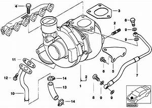 Original Parts For E46 330d M57 Touring    Engine   Turbo