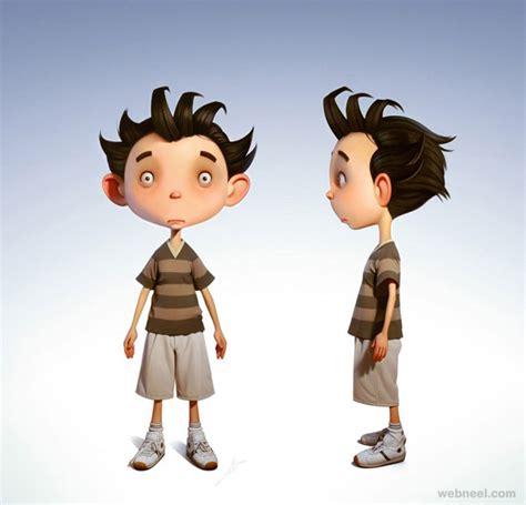funny  beautiful  cartoon character designs