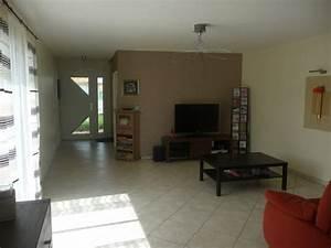 ophreycom peinture salon taupe et marron prelevement With photo peinture salon 2 couleurs 6 peinture chambre bebe couleur taupe et crame