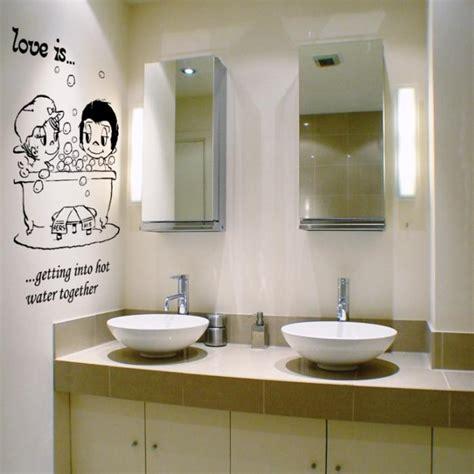 decorative  interesting bathroom wall stickers rilane