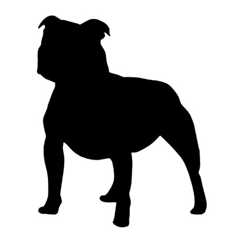 Svg cut file for cricut and silhouette users and other crafters. American Bully Silhouette at GetDrawings   Free download