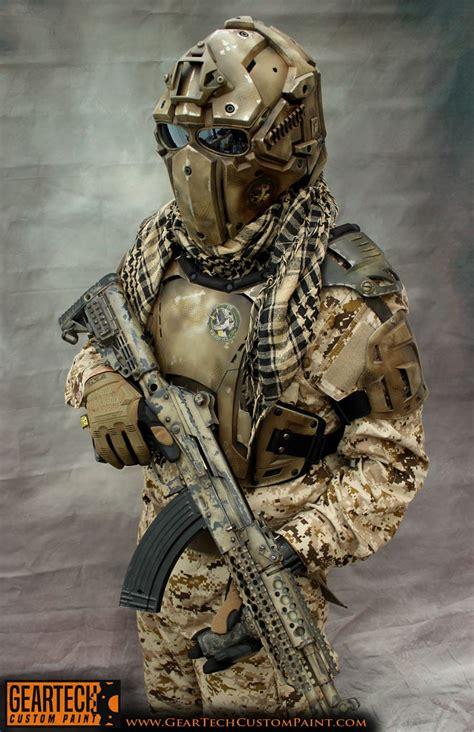 Custom Armour #1 - GearTech