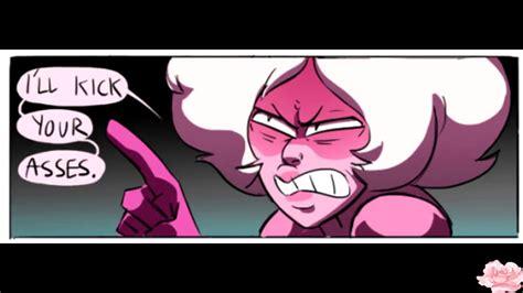 steven universe comic dub pinks tantrum youtube