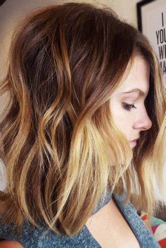 medium length hairstyles ideal  thick hair
