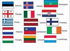 Europa, paises capitales y banderas