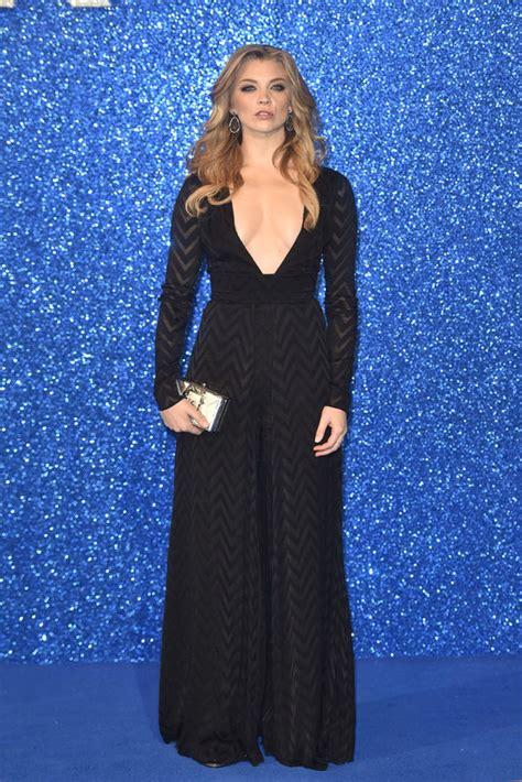 Natalie Dormer Dress by Of Thrones Natalie Dormer Flaunts Cleavage In