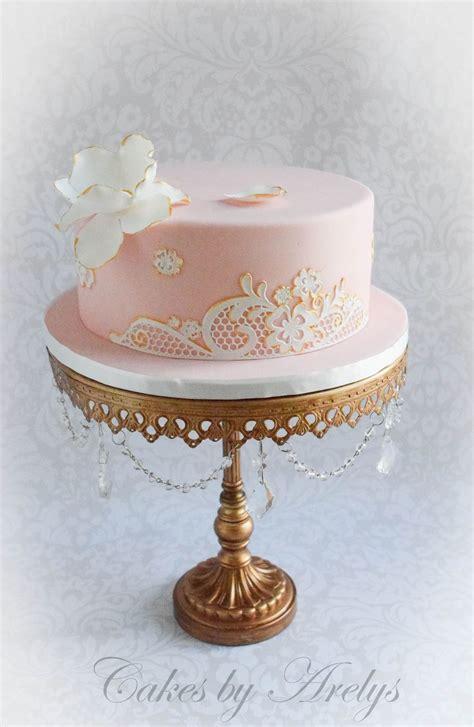 lace birthday cake cakecentralcom