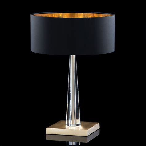 Lamps Table Contemporary by High End Modern Italian Black Table Lamp