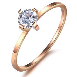 thin band engagement rings 39 s engagement promise wedding band 1mm thin ring gold yoyoon 7242