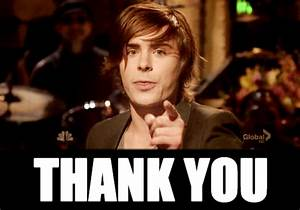 Zac Efron Thank You GIF - Find & Share on GIPHY