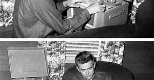 Walk this way, James Dean in his apartment on Sunset Plaza ...