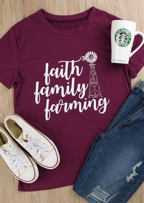 faith family farming  shirt fairyseason