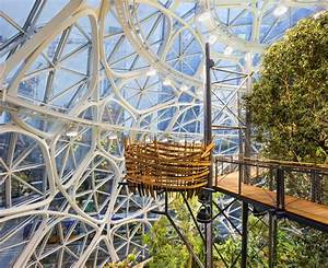 Take a look inside Amazon's Spheres as they get set to