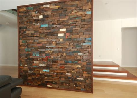 how to build a timber feature wall recycled timber feature wall family room brisbane by urban tile company