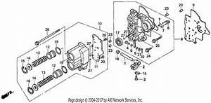 Honda H6522 A2 Compact Tractor  Jpn  Vin  Tzad