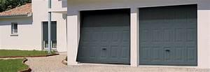 Prix Porte De Garage Basculante : porte de garage basculante avec motorisation somfy ~ Edinachiropracticcenter.com Idées de Décoration
