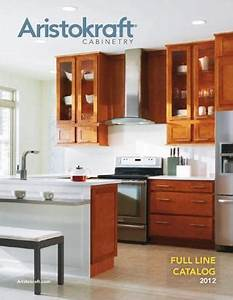 aristokraft full line cabinetry brochure by russell nadler With best brand of paint for kitchen cabinets with logo sticker printing