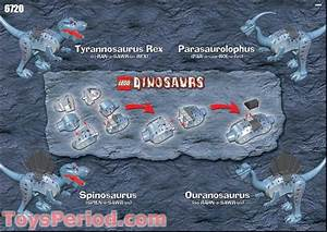 Lego 6720 Tyrannosaurus Rex Set Parts Inventory And