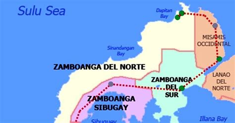 dipolog dapitan ozamiz pagadian zamboanga city