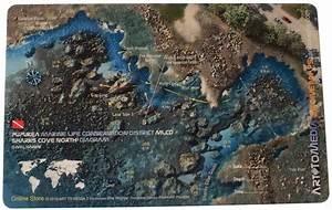 Shark U0026 39 S Cove North  Pupukea Reef Dive Site Map