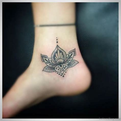 Permalink to Flower Tattoo Ankle