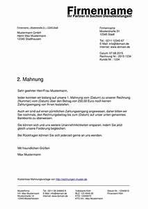 Rechnung Frist : mahnung muster kostenlose muster f r mahnungen ~ Themetempest.com Abrechnung
