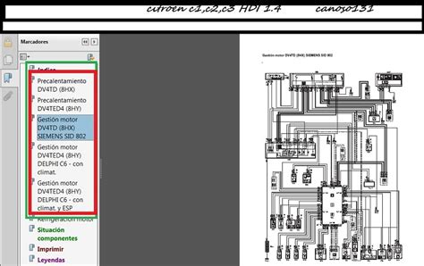 Need Electrical Diagram For Citroen Hdi Please