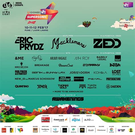 country fan fest 2017 lineup vh1 supersonic 2017 pune music lineup is out zedd to