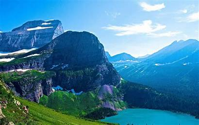 Glacier National Park Scenery Resolution Landscape