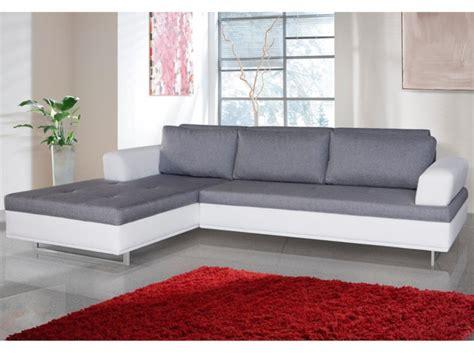 canape blanc et gris photos canapé d 39 angle convertible gris et blanc