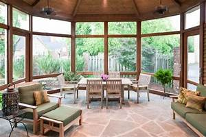 Porches interior deign ideas view with wood interior for Porch interior ideas uk