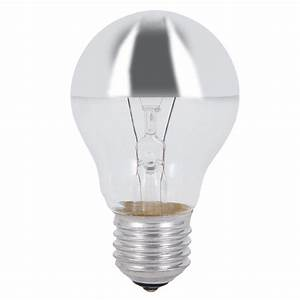 Energiesparlampen E27 100w : a60 e27 leuchtmittel kopfverspiegelt in silber 100w 1x 100 watt 100 watt lumen ~ Pilothousefishingboats.com Haus und Dekorationen