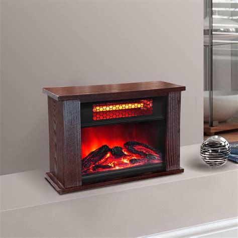 small electric fireplace heater 750 watt infrared mini fireplace heater