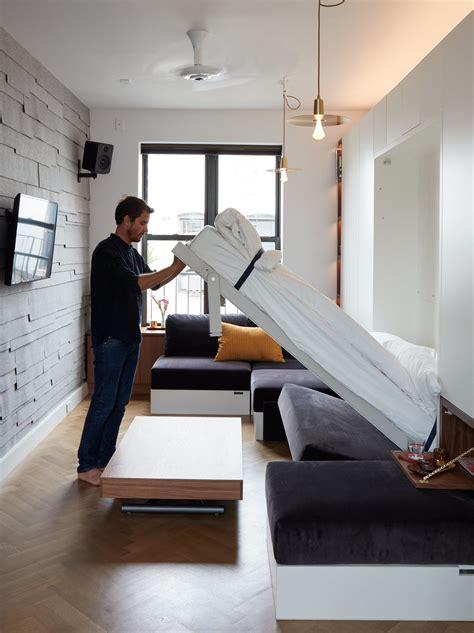 tiny  square foot smart apartment   york city