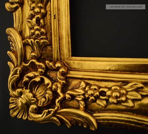 bilderrahmen 60 x 40 barock bilderrahmen 60 x 50 cm 30 x 40 cm gold gem 228 lde
