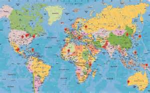 Maps around the World Com