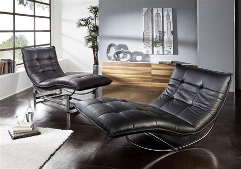 fauteuil de bureau avec appui tete chaise longue de relaxation rockme l en cuir