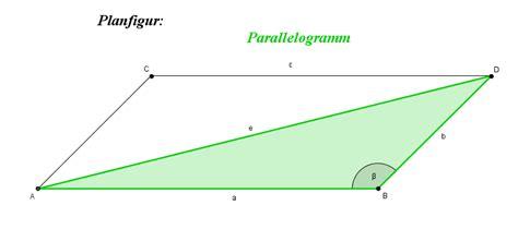 Berechnung Kündigungsfrist Wohnung by Parallelogramm Diagonalen Berechnen Rechner
