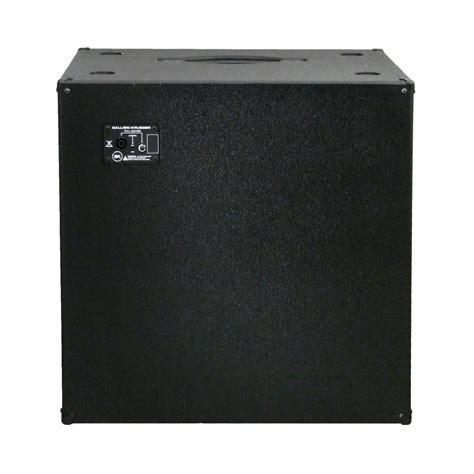 4 ohm speaker cabinet gallien krueger 410 mbe ii 4 ohm bass speaker cabinet at