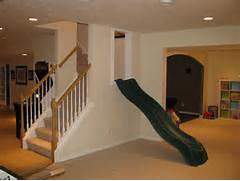 Finished Basement Ideas For Kids by Slide Right On Into The Playroom O Maybe A Bigger Slide For Us Big Ki