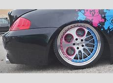 BMW M6 Lowered on Asymmetrical TWOFACE 3Piece Wheels from