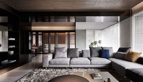 Black Acrylic Glass And Form This And Sophisticated Apartment Interior by Untitled Homedesigning Black Acrylic Glass And