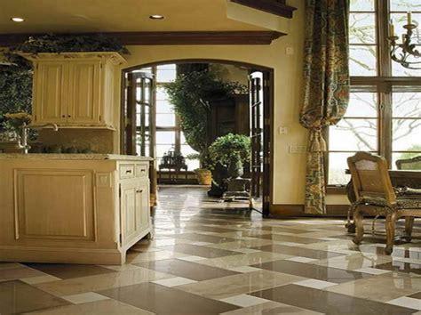 marble floor in kitchen best floor for kitchen design homesfeed 7366