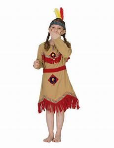 Faschingskostüme Kinder Mädchen : indianerin indianerm dchen kinderkost m beige rot gelb ~ Frokenaadalensverden.com Haus und Dekorationen