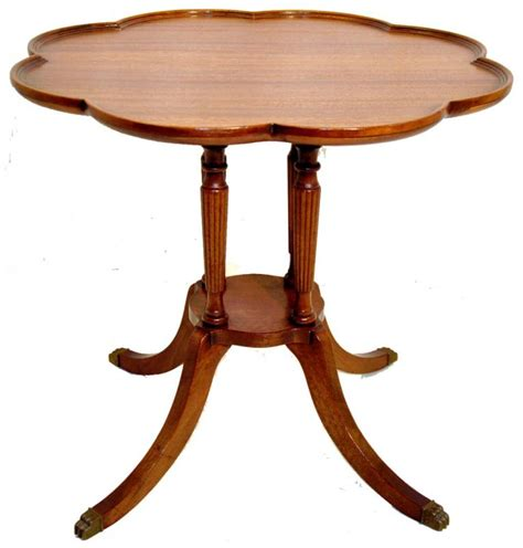 Furniture Allentown Pa by Duncan Phyfe Style Mahogany Pie Crust Side End Coffee