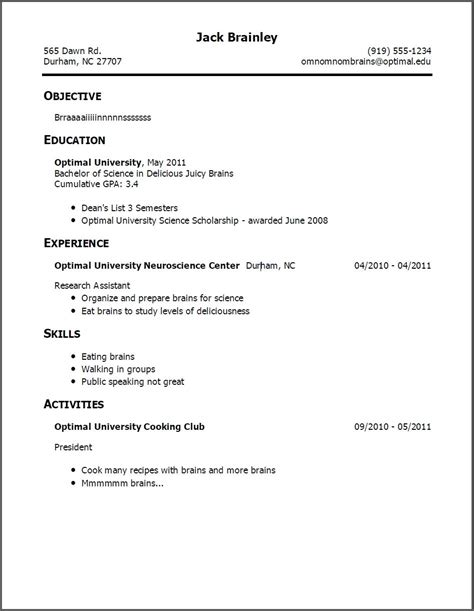 How To Create A Work Resume by Resume With Work Experience How Make Without Resumes