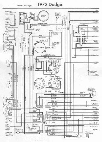 electrical wiring diagram   dodge charger