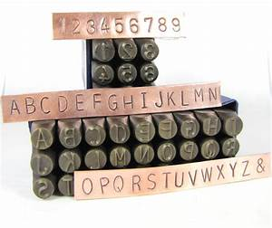 huge 8mm 5 16 metal alphabet stamps letters numbers for hand With metal letters and numbers for sale