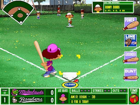 Backyard Sports by Backyard Baseball Windows My Abandonware