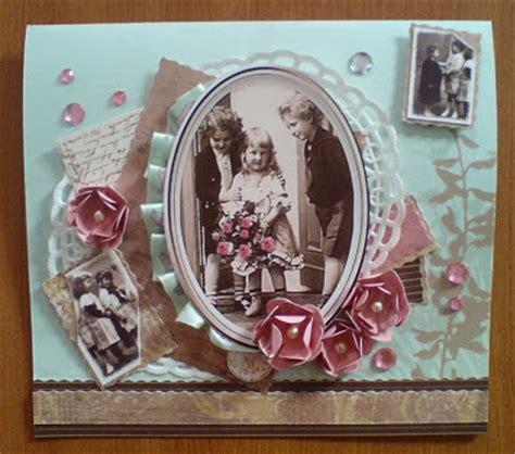 vintage karten basteln basteln und gestalten retro geburtstagskarte mit pop up klavier
